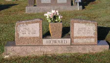 HOWARD, MABEL V. - Lawrence County, Arkansas | MABEL V. HOWARD - Arkansas Gravestone Photos