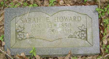 HOWARD, SARAH E. L. - Lawrence County, Arkansas | SARAH E. L. HOWARD - Arkansas Gravestone Photos