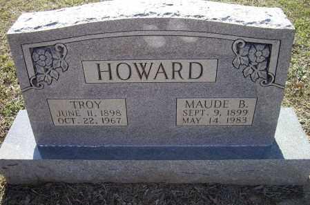 ROBINS HOWARD, MAUDE B. - Lawrence County, Arkansas | MAUDE B. ROBINS HOWARD - Arkansas Gravestone Photos
