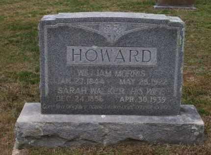 HOWARD, SARAH WALKER - Lawrence County, Arkansas | SARAH WALKER HOWARD - Arkansas Gravestone Photos