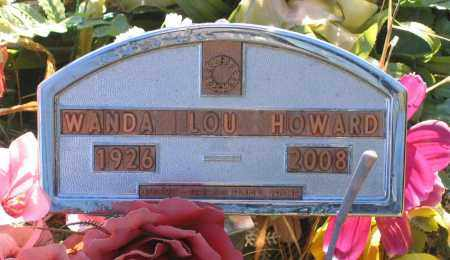 MILLER HOWARD, WANDA LOU - Lawrence County, Arkansas | WANDA LOU MILLER HOWARD - Arkansas Gravestone Photos