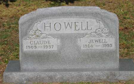 HOWELL, CLAUDE - Lawrence County, Arkansas   CLAUDE HOWELL - Arkansas Gravestone Photos