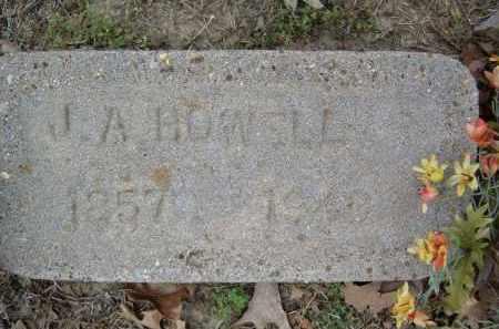 HOWELL, J. A. - Lawrence County, Arkansas | J. A. HOWELL - Arkansas Gravestone Photos