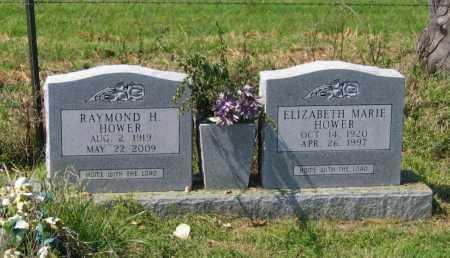 HOWER, ELIZABETH MARIE - Lawrence County, Arkansas   ELIZABETH MARIE HOWER - Arkansas Gravestone Photos