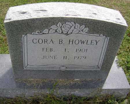 HOWLEY, CORA B. - Lawrence County, Arkansas | CORA B. HOWLEY - Arkansas Gravestone Photos