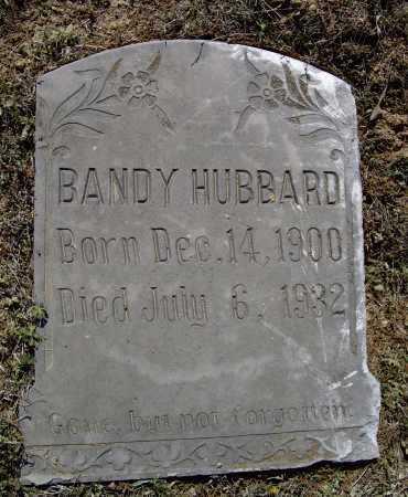 HUBBARD, LAWRENCE BANDY - Lawrence County, Arkansas   LAWRENCE BANDY HUBBARD - Arkansas Gravestone Photos