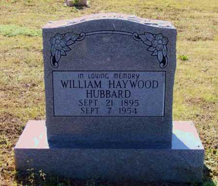 HUBBARD, JR, WILLIAM HAYWOOD - Lawrence County, Arkansas | WILLIAM HAYWOOD HUBBARD, JR - Arkansas Gravestone Photos