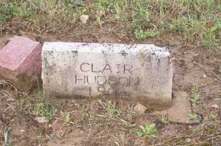 HUDSON, CLAIR - Lawrence County, Arkansas | CLAIR HUDSON - Arkansas Gravestone Photos
