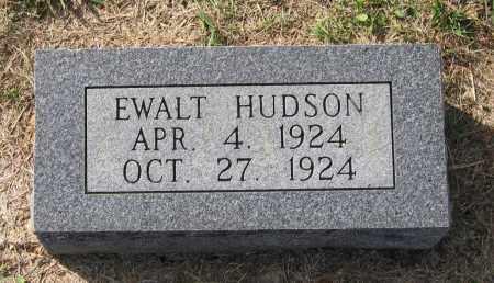 HUDSON, EWALT LAVON - Lawrence County, Arkansas   EWALT LAVON HUDSON - Arkansas Gravestone Photos