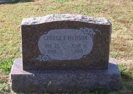 HUDSON, GEORGE FRANKLIN - Lawrence County, Arkansas | GEORGE FRANKLIN HUDSON - Arkansas Gravestone Photos