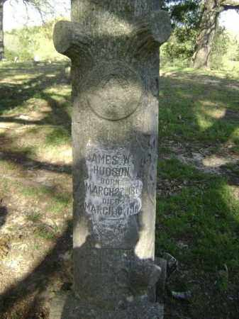 HUDSON, JAMES WILLIAM - Lawrence County, Arkansas | JAMES WILLIAM HUDSON - Arkansas Gravestone Photos