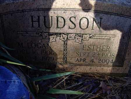 HUDSON, ESTER V. - Lawrence County, Arkansas | ESTER V. HUDSON - Arkansas Gravestone Photos