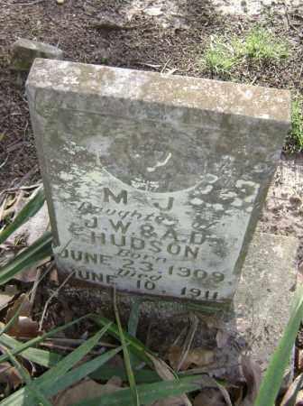 HUDSON, MARY JENTRY (M. J) - Lawrence County, Arkansas   MARY JENTRY (M. J) HUDSON - Arkansas Gravestone Photos