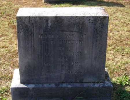 ADAMS HUDSON, MARY LEMENDA - Lawrence County, Arkansas | MARY LEMENDA ADAMS HUDSON - Arkansas Gravestone Photos
