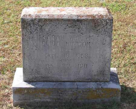 ROBERTSON HUDSON, SARAH JANE - Lawrence County, Arkansas | SARAH JANE ROBERTSON HUDSON - Arkansas Gravestone Photos