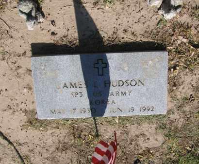 HUDSON (VETERAN KOR), JAMES L. - Lawrence County, Arkansas   JAMES L. HUDSON (VETERAN KOR) - Arkansas Gravestone Photos