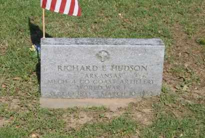 HUDSON (VETERAN WWI), RICHARD E. - Lawrence County, Arkansas | RICHARD E. HUDSON (VETERAN WWI) - Arkansas Gravestone Photos