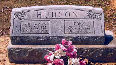 HEDRICK HUDSON, MARY EDNA - Lawrence County, Arkansas | MARY EDNA HEDRICK HUDSON - Arkansas Gravestone Photos