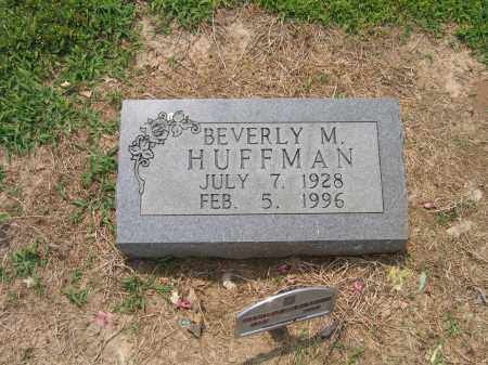 HUFFMAN, BEVERLY M. - Lawrence County, Arkansas   BEVERLY M. HUFFMAN - Arkansas Gravestone Photos