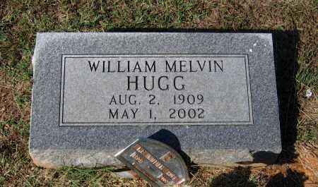 HUGG, WILLIAM MELVIN - Lawrence County, Arkansas   WILLIAM MELVIN HUGG - Arkansas Gravestone Photos