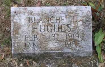 HUGHES, BLANCHE J. - Lawrence County, Arkansas   BLANCHE J. HUGHES - Arkansas Gravestone Photos