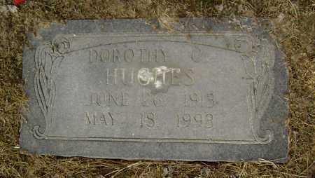 HUGHES, DOROTHY C. - Lawrence County, Arkansas   DOROTHY C. HUGHES - Arkansas Gravestone Photos