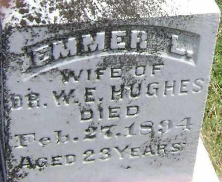 HUGHES, EMMER L. - Lawrence County, Arkansas   EMMER L. HUGHES - Arkansas Gravestone Photos
