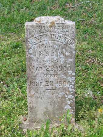 HULL, HENRY PORTER - Lawrence County, Arkansas | HENRY PORTER HULL - Arkansas Gravestone Photos