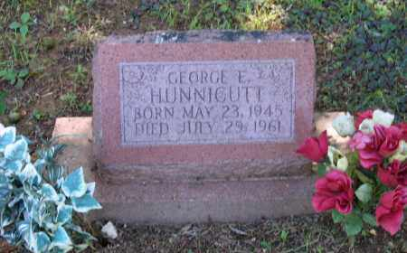 HUNNICUTT, GEORGE E. - Lawrence County, Arkansas | GEORGE E. HUNNICUTT - Arkansas Gravestone Photos