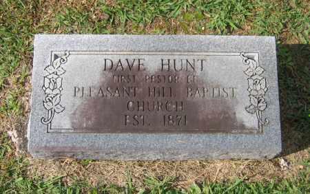 "HUNT, DAVID E. ""DAVE"" - Lawrence County, Arkansas | DAVID E. ""DAVE"" HUNT - Arkansas Gravestone Photos"