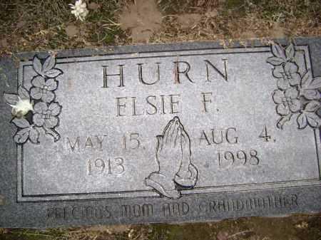 HURN, ELSIE FLORENE - Lawrence County, Arkansas | ELSIE FLORENE HURN - Arkansas Gravestone Photos