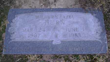HURN, MILBURN AZEL - Lawrence County, Arkansas | MILBURN AZEL HURN - Arkansas Gravestone Photos