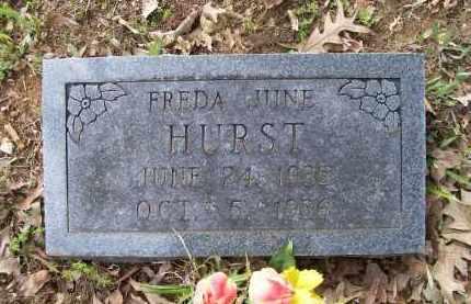 HURST, FREDA JUNE - Lawrence County, Arkansas   FREDA JUNE HURST - Arkansas Gravestone Photos