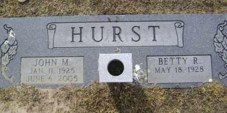HURST (VETERAN WWII), JOHN MCCURRY - Lawrence County, Arkansas | JOHN MCCURRY HURST (VETERAN WWII) - Arkansas Gravestone Photos