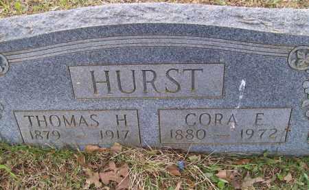 HURST, CORA E. - Lawrence County, Arkansas   CORA E. HURST - Arkansas Gravestone Photos