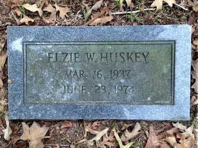 HUSKEY, ELZIE W. - Lawrence County, Arkansas | ELZIE W. HUSKEY - Arkansas Gravestone Photos