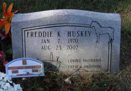 HUSKEY, FREDDIE K. - Lawrence County, Arkansas | FREDDIE K. HUSKEY - Arkansas Gravestone Photos