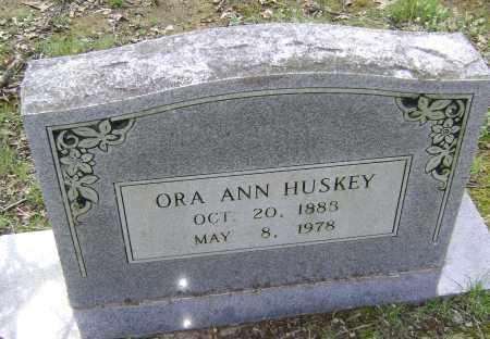 WILLMUTH HUSKEY, ORA ANN - Lawrence County, Arkansas   ORA ANN WILLMUTH HUSKEY - Arkansas Gravestone Photos