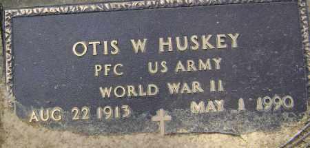 HUSKEY (VETERAN WWII), OTIS WILLIAM - Lawrence County, Arkansas | OTIS WILLIAM HUSKEY (VETERAN WWII) - Arkansas Gravestone Photos