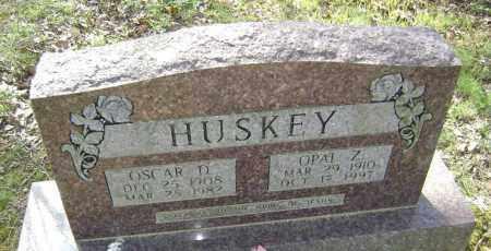 HUSKEY, OPAL ZELMA - Lawrence County, Arkansas   OPAL ZELMA HUSKEY - Arkansas Gravestone Photos