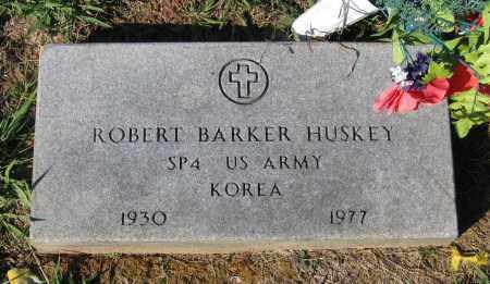 HUSKEY (VETERAN KOR), ROBERT BARKER - Lawrence County, Arkansas   ROBERT BARKER HUSKEY (VETERAN KOR) - Arkansas Gravestone Photos