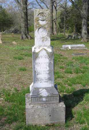 """HUNTER IMBODEN, MARY T. """"POLLY"""" - Lawrence County, Arkansas 