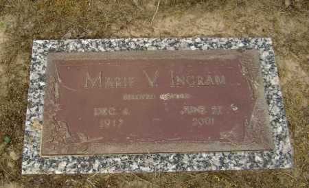 WINFREY INGRAM, MARIE V. - Lawrence County, Arkansas | MARIE V. WINFREY INGRAM - Arkansas Gravestone Photos