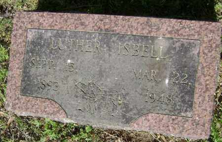 ISBELL, LUTHER - Lawrence County, Arkansas | LUTHER ISBELL - Arkansas Gravestone Photos