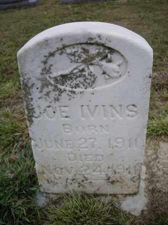 IVINS, JOE - Lawrence County, Arkansas | JOE IVINS - Arkansas Gravestone Photos