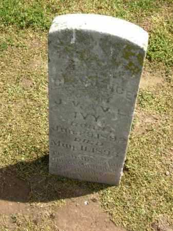 IVY, CLARENCE - Lawrence County, Arkansas | CLARENCE IVY - Arkansas Gravestone Photos