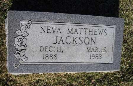 "MATTHEWS, GENEVA ""NEVA"" - Lawrence County, Arkansas | GENEVA ""NEVA"" MATTHEWS - Arkansas Gravestone Photos"