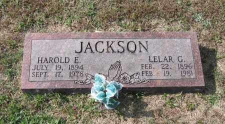 JACKSON, HAROLD E. - Lawrence County, Arkansas | HAROLD E. JACKSON - Arkansas Gravestone Photos