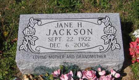 JACKSON, JANE H. - Lawrence County, Arkansas | JANE H. JACKSON - Arkansas Gravestone Photos