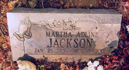 JACKSON, MARTHA ADLINE - Lawrence County, Arkansas | MARTHA ADLINE JACKSON - Arkansas Gravestone Photos